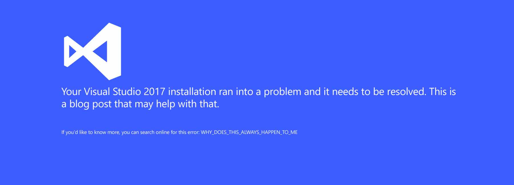 Resolving Installation Issues with Visual Studio 2017