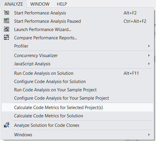 Line Counting Trickery within Visual Studio